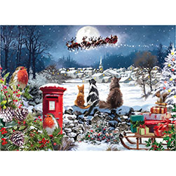 Christmas Delivery Jigsaw 1000 piece